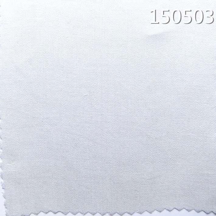 150503天丝缎纹超薄春夏衬衫面料