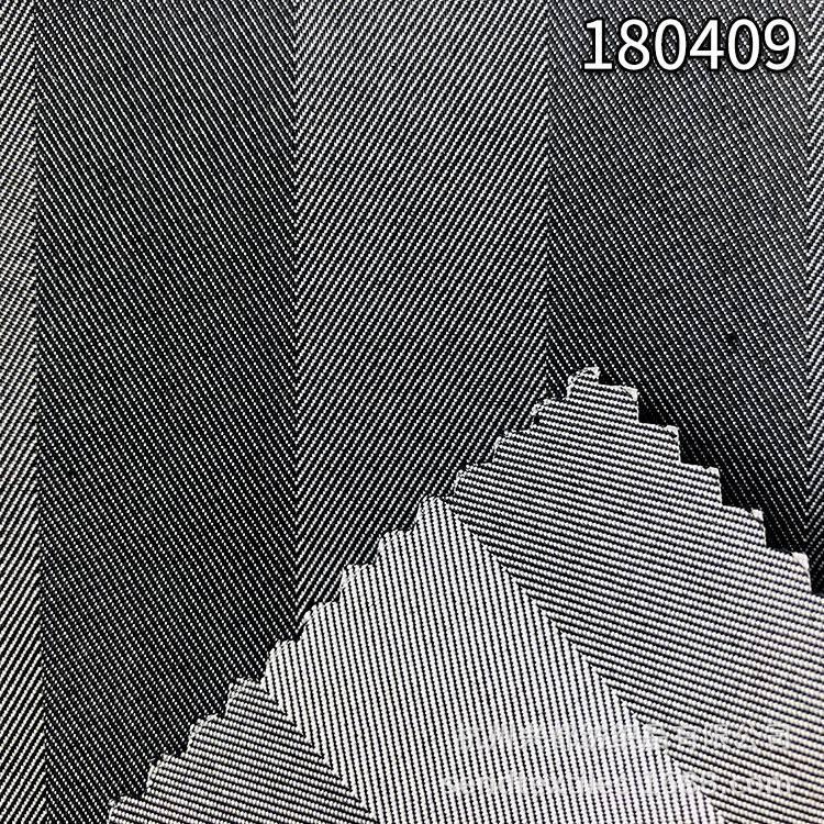 180409天丝涤纶人字斜面料
