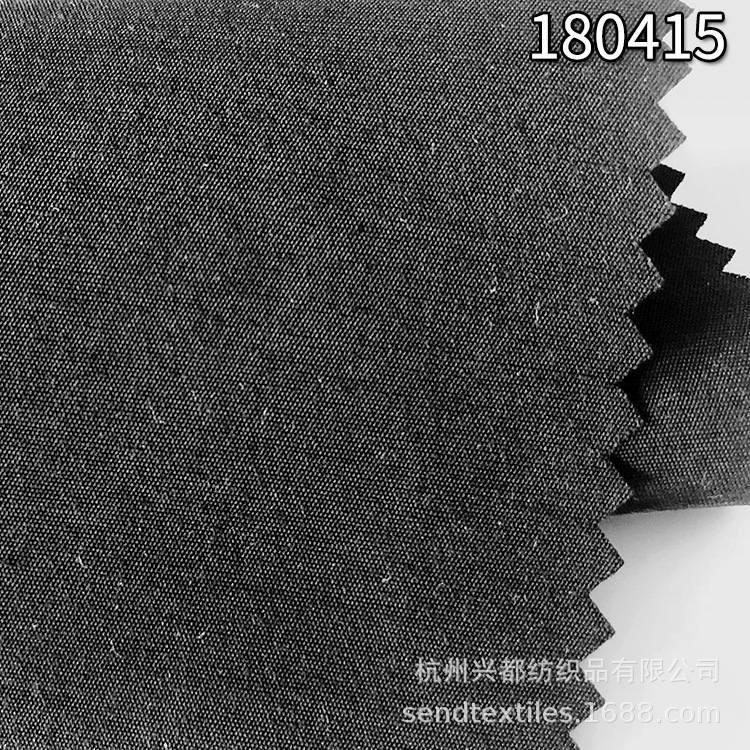 180415涤人棉开纤面料 中高档服装面料