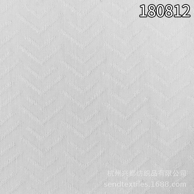180812全人棉提花面料 85g人棉大提花连衣裙面料