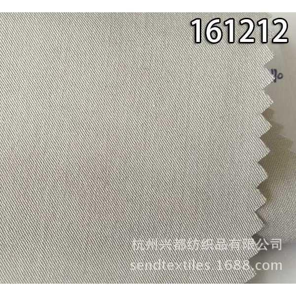 161212天丝人棉混纺斜纹面料 连衣裙面料