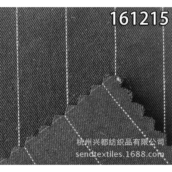 161215莱赛尔天丝涤斜纹服装面料