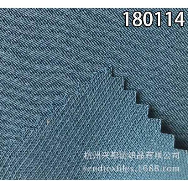 180114天丝粘麻双面斜休闲服装面料