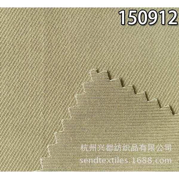 150912梭织粘胶天丝骑兵斜面料