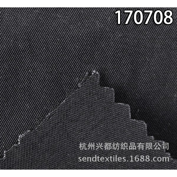170708涤人棉斜纹面料