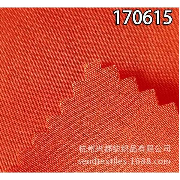 170615人丝人棉贡缎时装面料