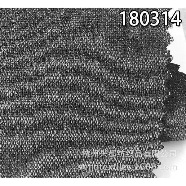 180314天丝麻混纺平纹面料