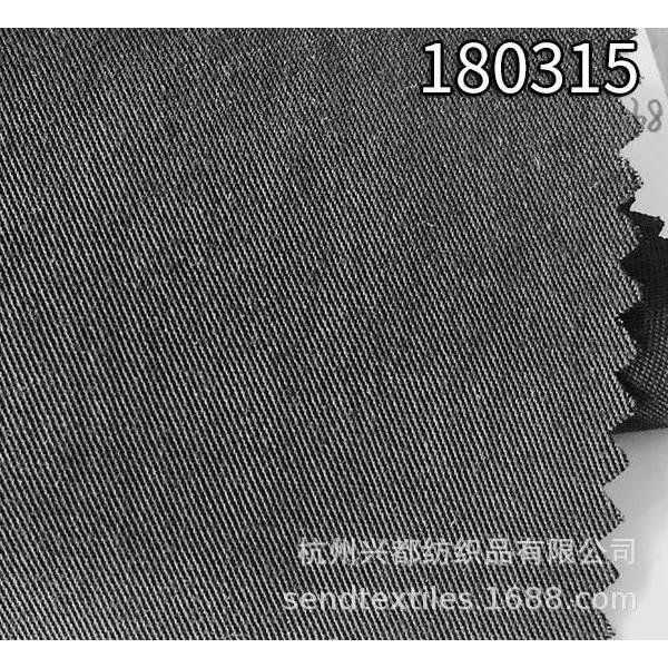 180315天丝麻斜纹春夏时装面料