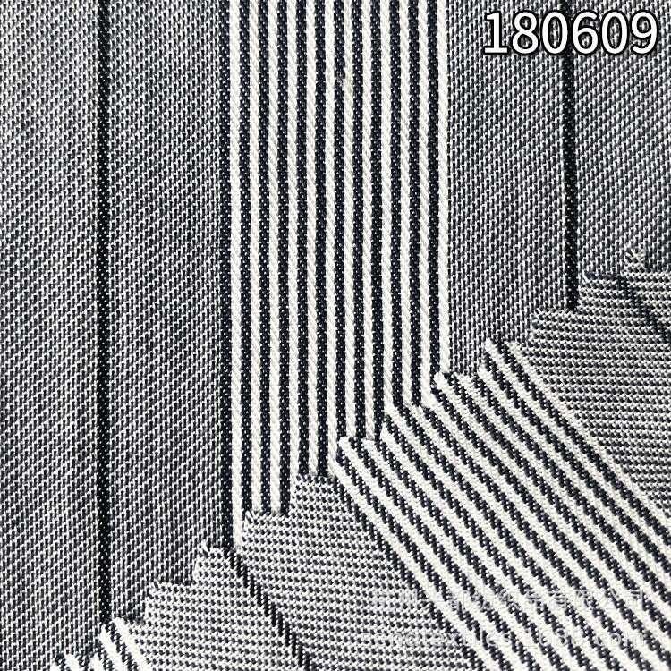 180609全天丝色织条子 春夏服装布