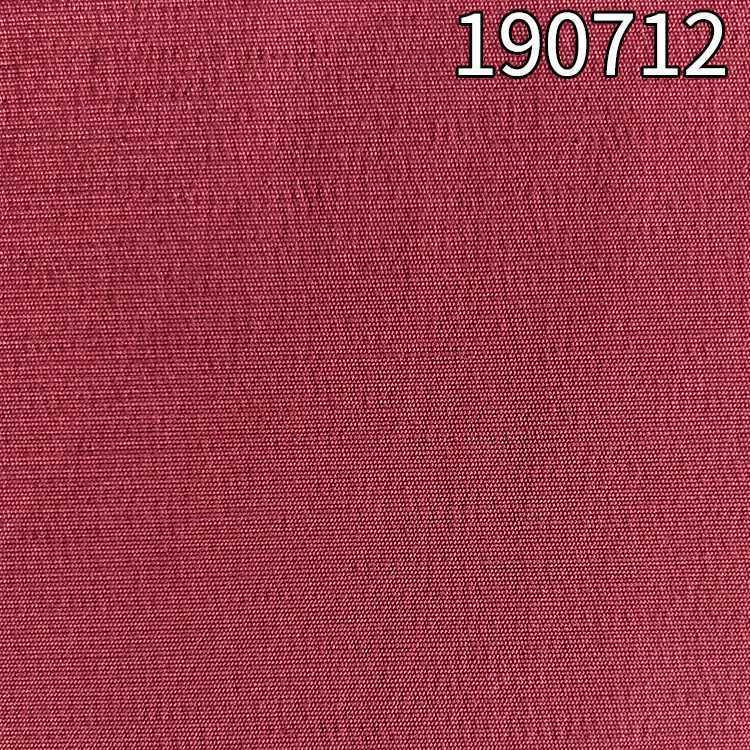 190712涤人棉弹力面料 153g单丝粘胶弹力开纤面料