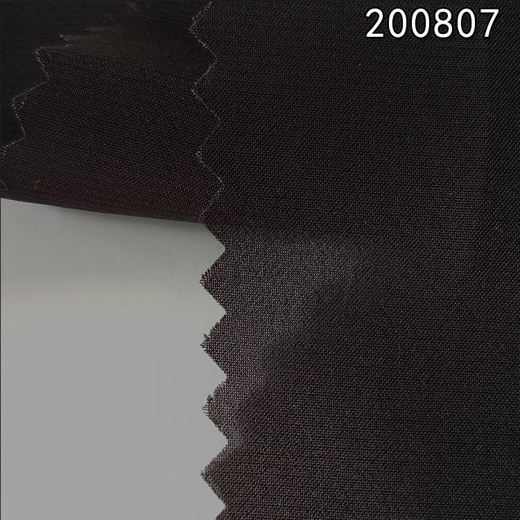 200807夏季新款柔维丝双绉拉平时装面料
