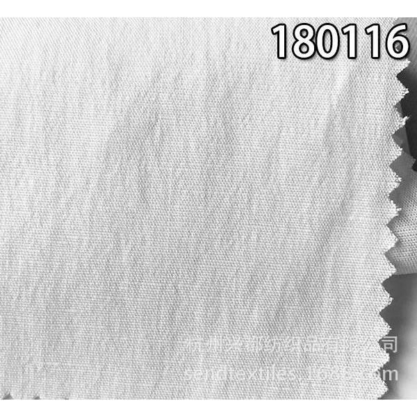 180116天丝麻弹力布 平纹天丝麻纬弹服装面料