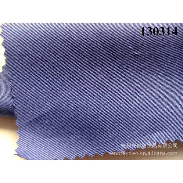 130314高档衬衫面料棉天丝交织布