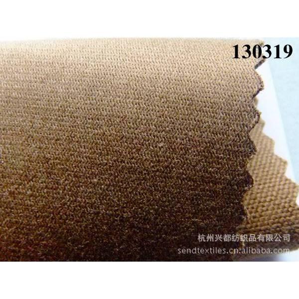 130319粘棉纬弹 破卡组织 秋冬女装外套裤装面料
