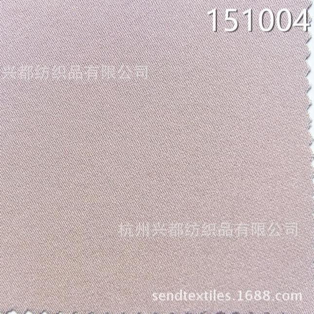 151004人丝人棉纬弹布料