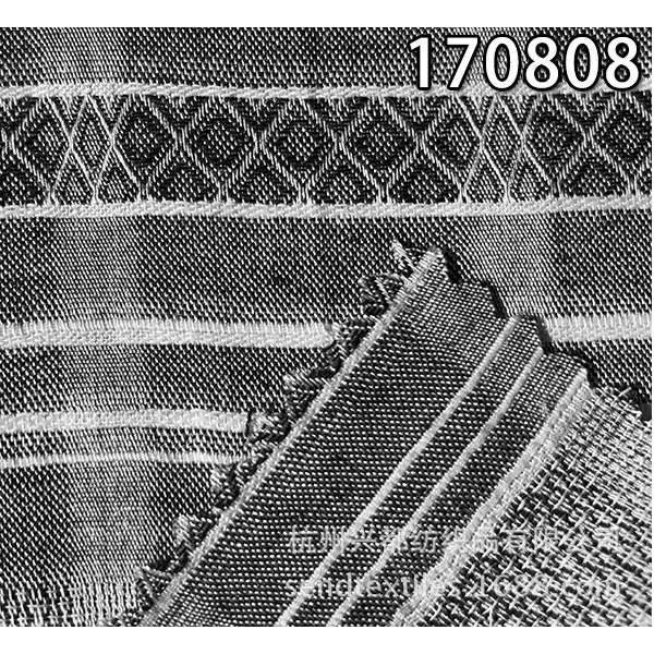 170808全天丝提花薄款女装面料
