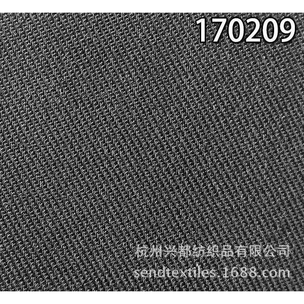 170209纯天丝 竹节弹力面料
