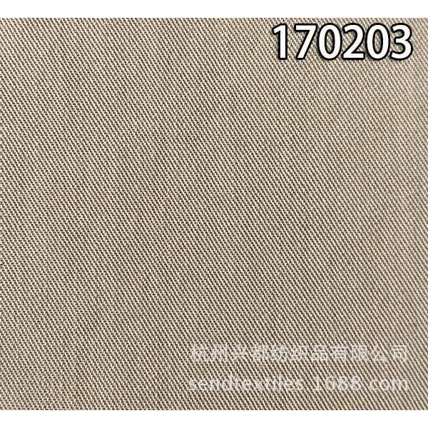 170203天丝加密斜纹面料 莱赛尔梭织服装面料