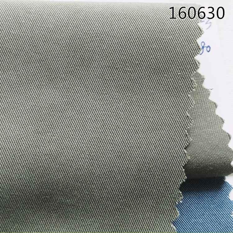 160630天丝涤短纤斜纹面料