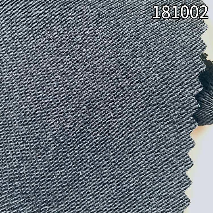 181002兰精天丝棉混纺府绸面料 衬衫服装面料