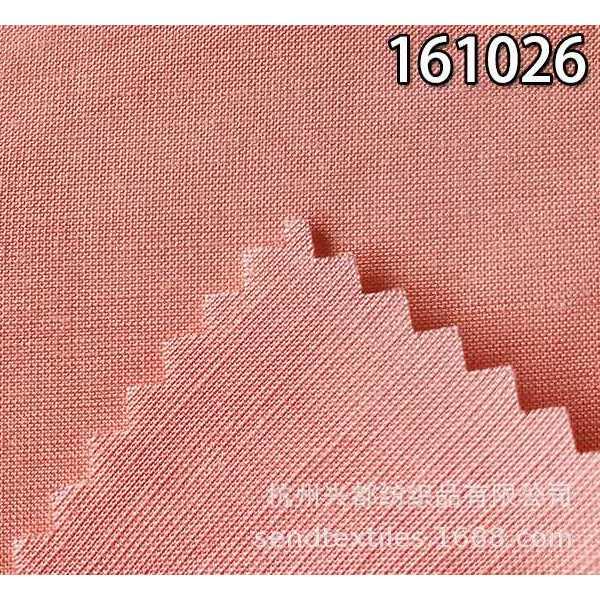 161026人丝粘天丝麻混纺交织面料