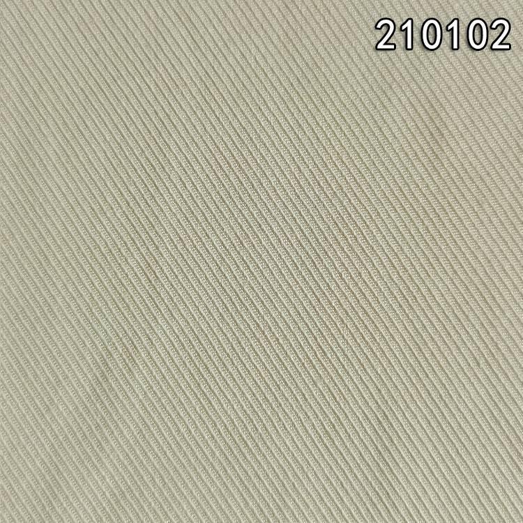 210102骑兵斜天丝粘麻女装面料