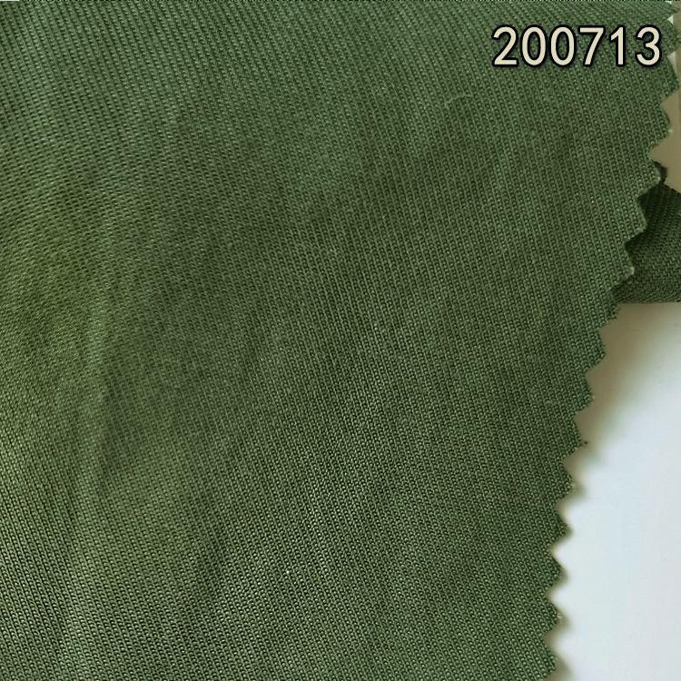 200713天丝棉麻右斜纹 莱赛尔双面斜棉麻布