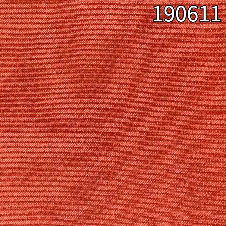 190611涤人棉仿铜氨面料 35%涤65%人棉平纹强捻面料