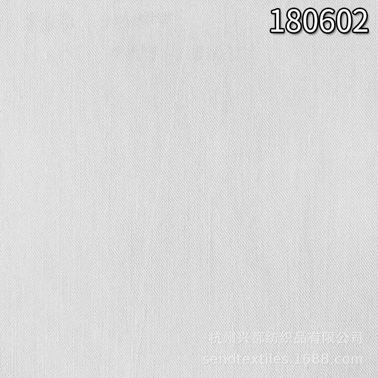 180602棉人棉交织斜纹面料 棉粘交织布料
