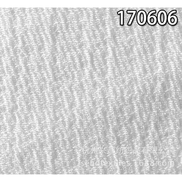170606锦单丝人棉多臂面料 人棉休闲时装面料