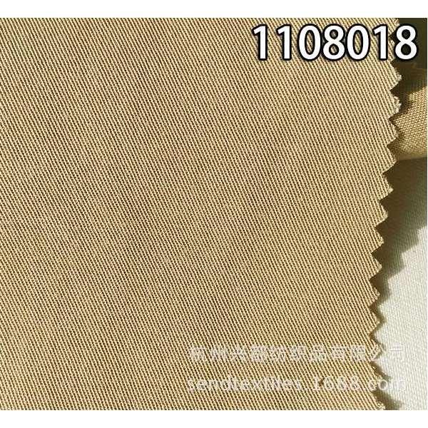 1108018天丝棉交织斜纹服装面料
