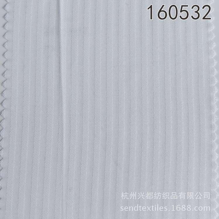 160532平斜纹竖条人丝人棉布