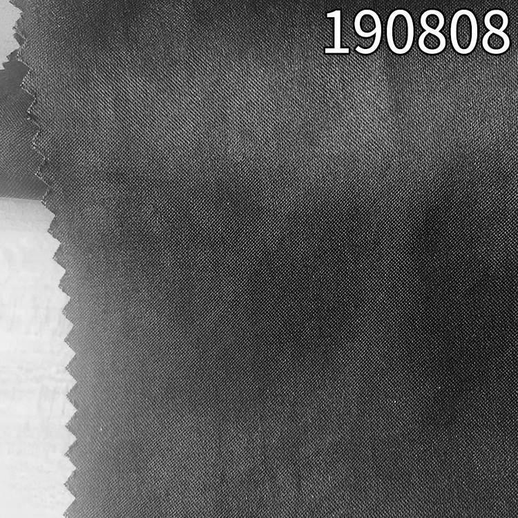 190808天长丝人丝贡缎面料 165g缎纹长丝天丝粘胶面料