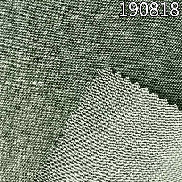 190818天枢麻双经单纬面料 风衣外套面料