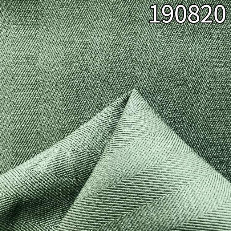 190820天枢麻人字斜面料 1.2cm人字斜天丝面料