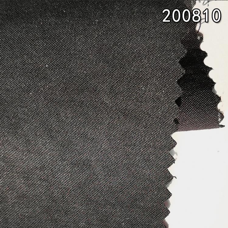 200810兰精天丝棉纬弹贡缎服装面料