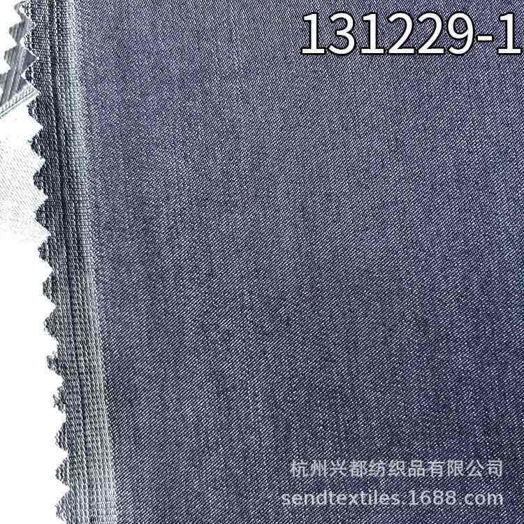 131229-1仿牛仔风格弹力缎纹天丝涤面料