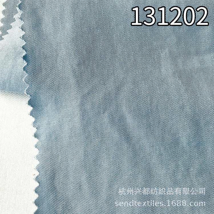 131202梭织全天丝斜纹莱赛尔服装面料