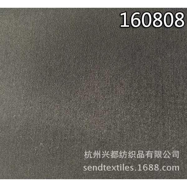 160808A天丝涤弹力斜纹面料