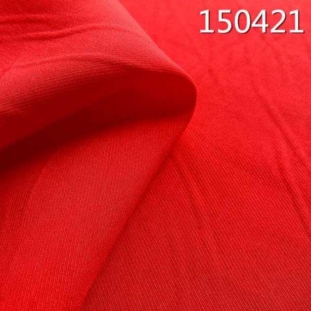 150421骑兵斜人丝人棉交织春夏服装面料