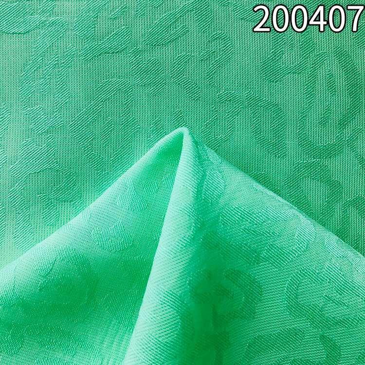 200407涤天丝提花衬衫连衣裙面料