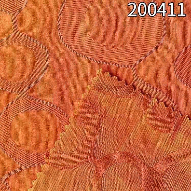 200411涤天丝大提花衬衫连衣裙面料