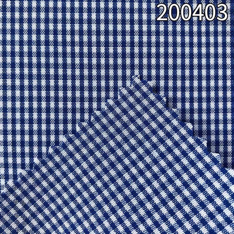 200403天枢色织格子条女装连衣裙面料