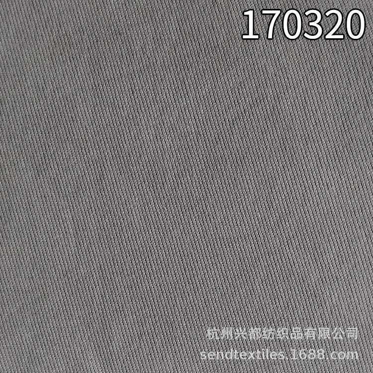 170320棉人棉斜纹弹力面料