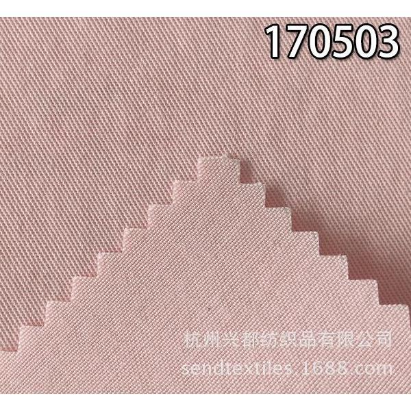 170503纯天丝斜纹莱赛尔时装面料