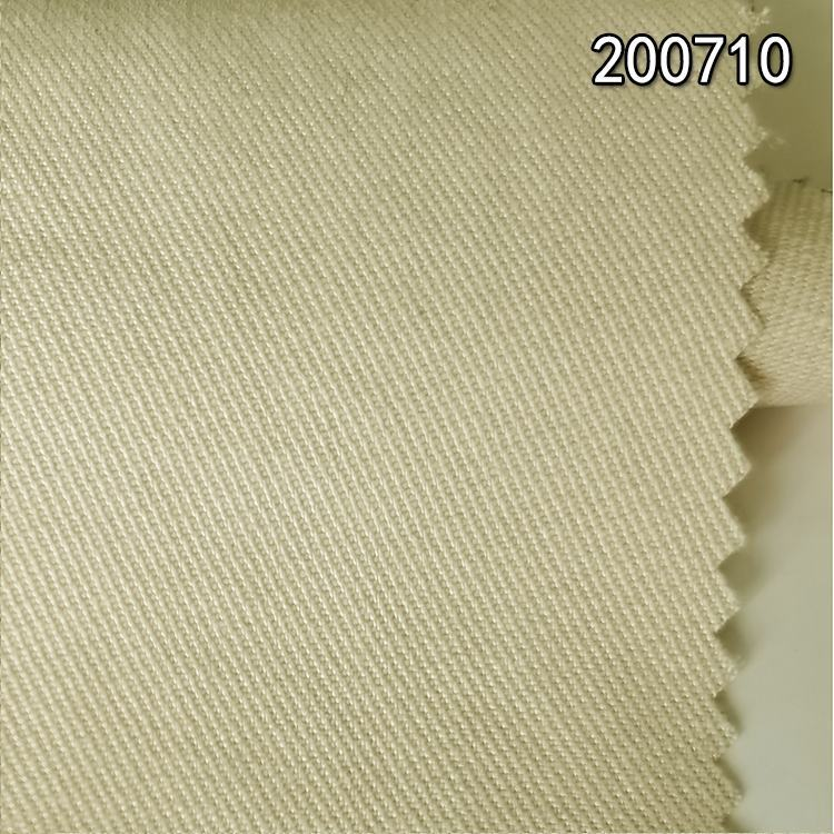 200710 天丝棉斜纹中磅纱卡面料 服装外套裤装面料