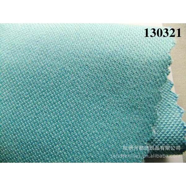 130321棉粘交织纬弹女装外套面料