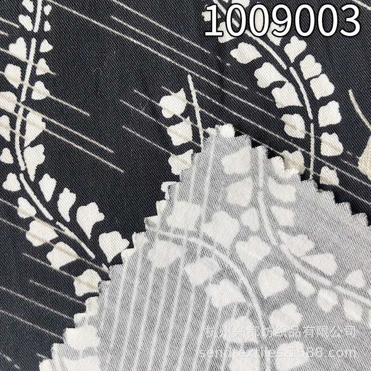 1009003天丝棉女装印花面料