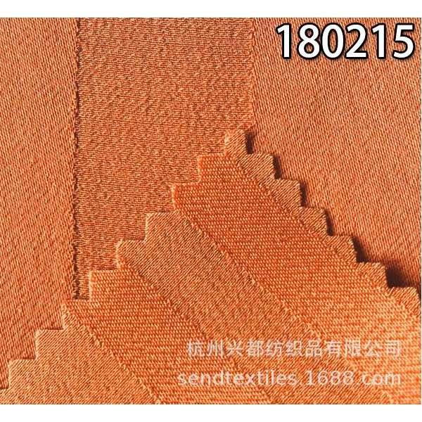 180215春夏服装面料 人丝人棉提条女装面料