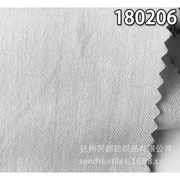 180206天丝棉混纺斜纹面料